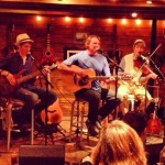 I heard the Ham Family at the Puckett's Boathouse.  They are terrific!  Folksy - The dad, Mark and his 3 sons.  Talent oozing.  https://www.facebook.com/thehamfamilyband