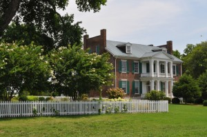 The McGavock's Franklin Mansion was called the Carnton Plantation