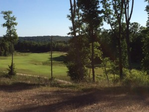 Golf, sky, views and a new home